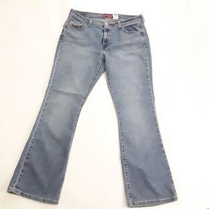 Levi Strauss Womens Nouveau 515 Bootcut jeans 14